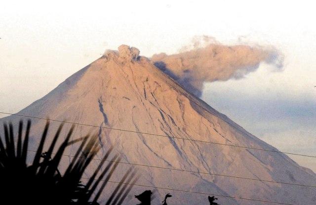Volcán Concepción - Foto tomada de El Diario Hoy.
